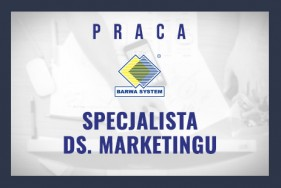 Oferta pracy - Specjalista ds. marketingu!